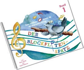 Schuh Verlag - Der Blockflötenspatz 1