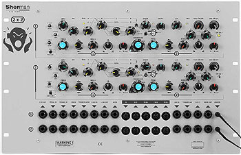 Sherman - Filterbank 2 Dual Rack