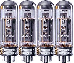 TAD - RT154 Tubes EL34L Cz Quartet