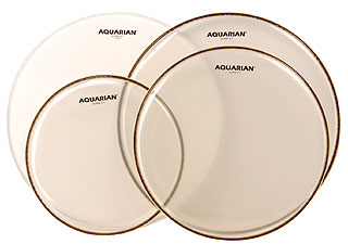 Aquarian - QS2-B Drum Head Set Standard