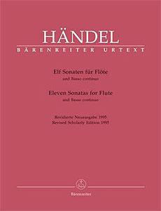 Bärenreiter - Händel Elf Sonaten für Flöte