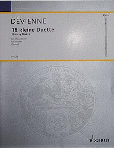 Schott - Devienne 18 Kleine Duette