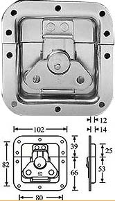 Adam Hall - 17291TP Butterfly Latch medium