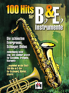 Musikverlag Hildner - 100 Hits for Bb & Eb 1
