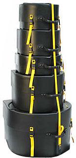 Hardcase - Drum Case Set HRockFus