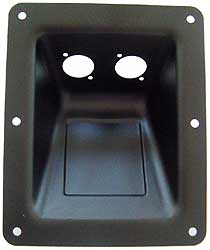 Adam Hall - 87160 Dish D-Type Sockets blk