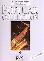 Edition Dux - Popular Collection 4 A-Sax