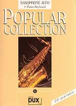 Edition Dux - Popular Collection 5 A-Sax+P