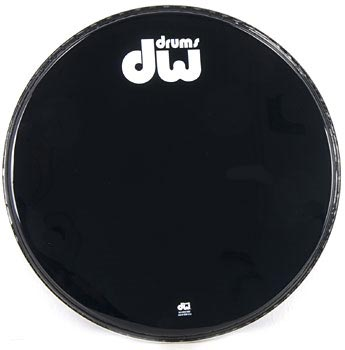 DW - 20' Bass Drum Resonant Head B