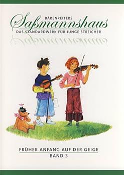 Bärenreiter - Saßmannshaus Anfang Geige 3