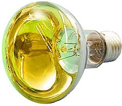 Omnilux - R80 Lamp E27 Yellow