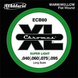 Daddario - ECB80 Chromes