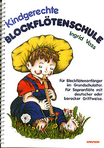 Gerig Musikverlag - Kindgerechte Blockflötenschule
