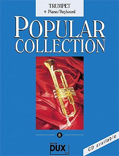 Edition Dux - Popular Collection 8 Trumpet+P