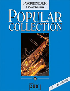 Edition Dux - Popular Collection 8 A-Sax+ P