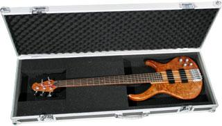 Harley Benton - Flight Case Wood Bass