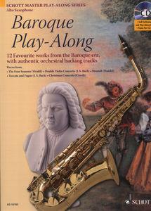 Schott - Baroque Play-Along A-Sax