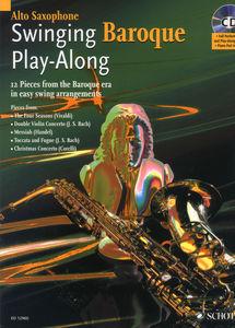 Schott - Swinging Baroque Play A-Sax