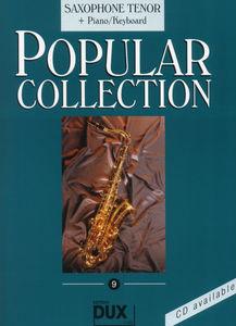 Edition Dux - Popular Collection 9 T-Sax+P