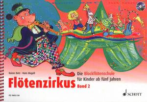 Schott - Flötenzirkus 2 + CD