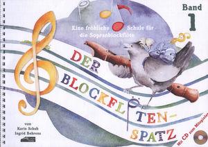 Schuh Verlag - Der Blockflötenspatz 1 + CD