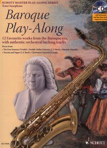 Schott - Baroque Play-Along T-Sax