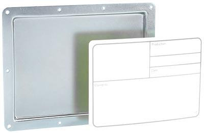 Adam Hall - 88001 D Recess Plate