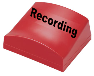 Canford Audio - Recording Illum. Sign Typ A