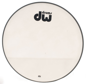 DW - 20' Bass Drum Resonant Head W