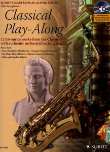 Schott - Classical Play-Along A-Sax