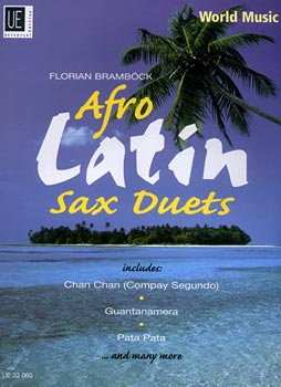 Universal Edition - Afro Latin Sax Duets