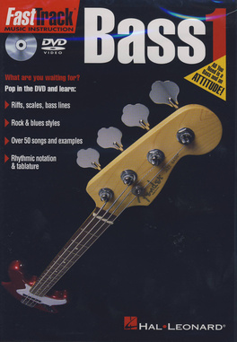Hal Leonard - Fast Track Bass 1