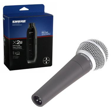Shure - SM58 LC - X2U Bundle