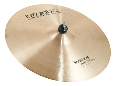 Istanbul Agop - Traditional Pap.Thin Crash 17'