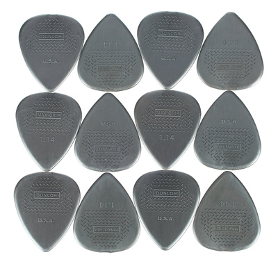Dunlop - Nylon Max Grip 1,14 Player Pk