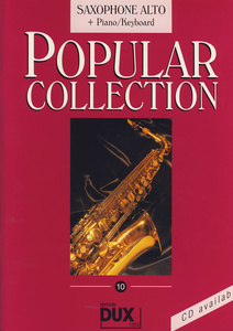 Edition Dux - Popular Collection 10 A-Sax+P