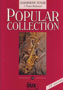 Edition Dux - Popular Collection 10 T-Sax+P
