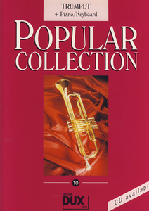 Edition Dux - Popular Collection 10 Tr+Piano