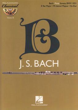 Hal Leonard - Bach Flute Sonata Play-Along