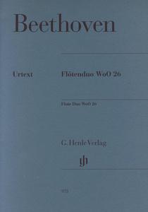 Henle Verlag - Beethoven Flötenduo WoO 26