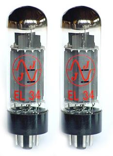 TAD - JJ EL34 Duett Matched Tubes
