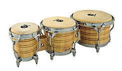 LP - 202AW Triple Bongo Set