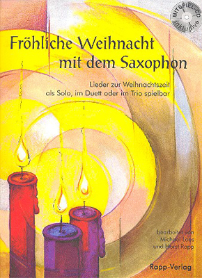 Horst Rapp Verlag - Fröhliche Weihnacht Alto Sax