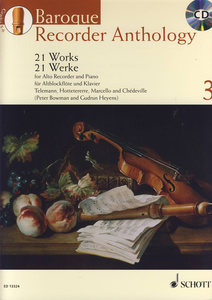 Schott - Baroque Recorder Anthology 3
