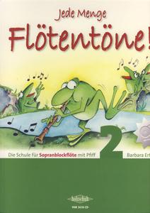 Holzschuh Verlag - Jede Menge Flötentöne 2 + CD