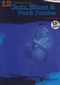 Alfred Music Publishing - 12 Medium Jazz Etudes Eb