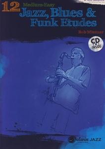 Alfred Music Publishing - 12 Medium Jazz Etudes Bb