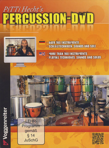 Voggenreiter - Pitti Hecht`s Percussion DVD