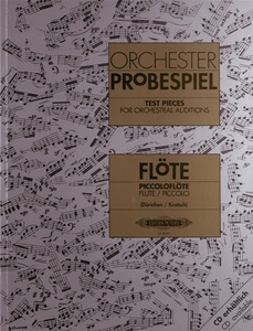 Edition Peters - Orchester Probespiel Flöte