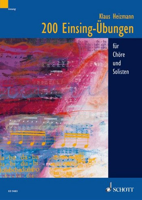 Schott - 200 Einsing-Übungen für Chöre